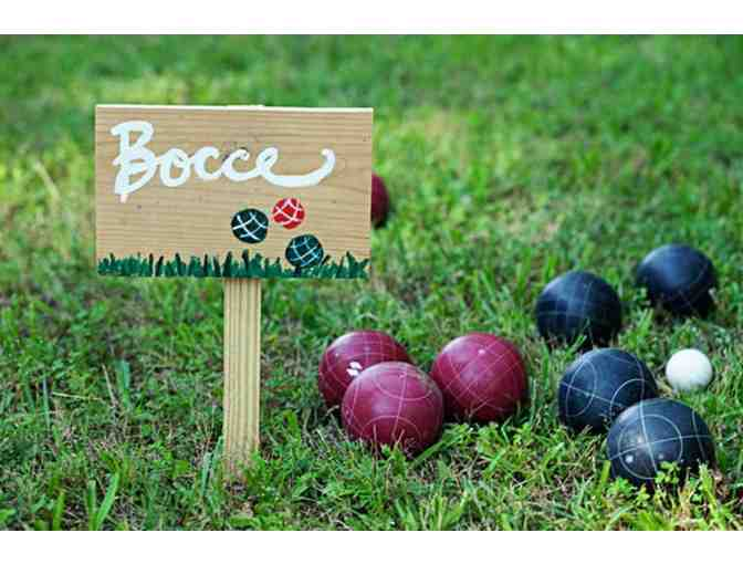 Bocce Ball Party at Racquet Club Ladue
