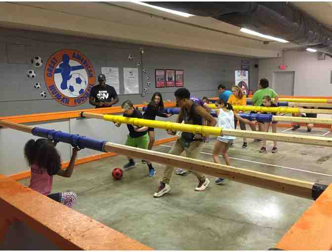 4th Grade Human Foosball Party