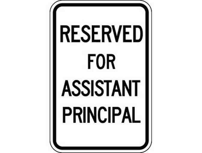 Assistant Principal for a Day! (Current 2nd through 4th Graders)