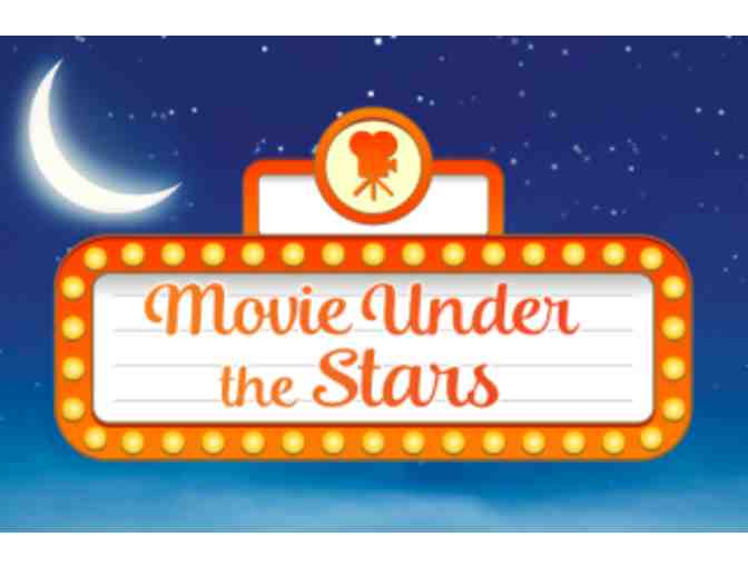 Movie under the Stars for 1st Graders!