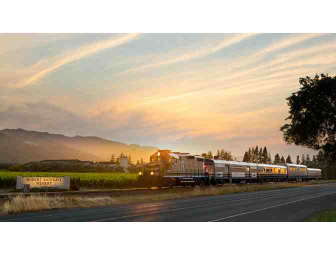Gourmet Dinner Package for Two on the Napa Valley Wine Train
