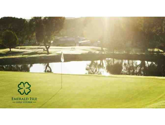 Emerald Isle Golf Course -- Two Vouchers Each for a Round of Golf for Two with Cart