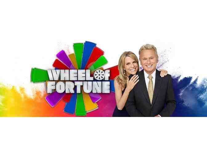Wheel of Fortune: Four Production Passes & Prize Pack - Photo 1