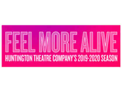 Huntington Theatre Company Boston: Two Tickets for 2019/2020 Production