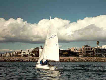 Two-Hour Sailing Lesson for Two People in Marina del Rey