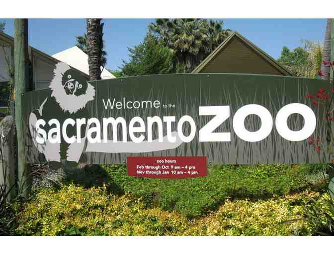 Sacramento Zoo - Family Pass