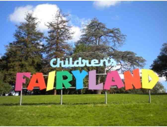 Children's Fairyland in Oakland - Four General Admission Tickets