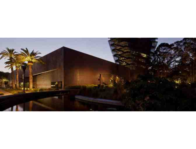 de Young or Legion of Honor Museums - 4 VIP General Admission Tickets