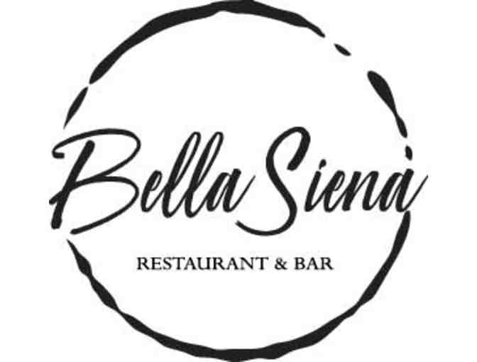 Bella Siena in Benicia - Dinner for Two with the Trio that run The Respite Inn