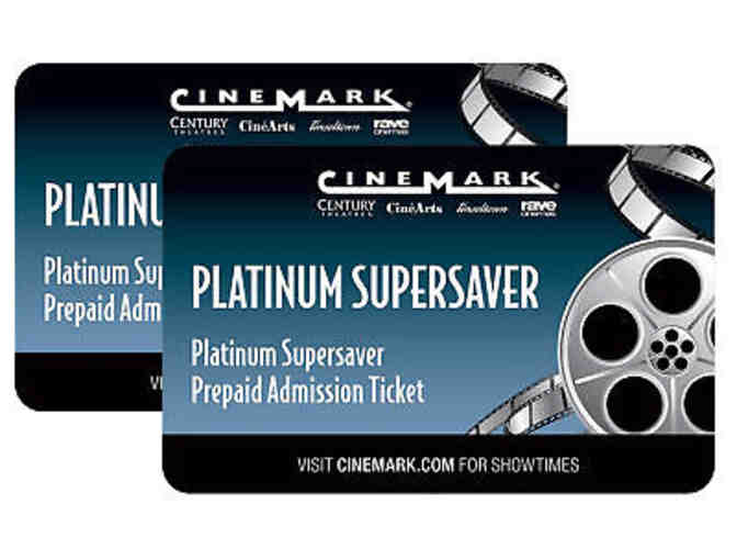 Cinemark Platinum Supersaver - 2 tickets
