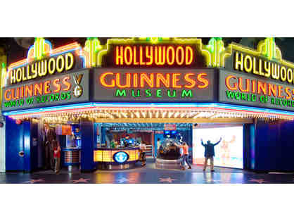 2 tickets to The Hollywood Wax Museum and Guiness World Records Museum
