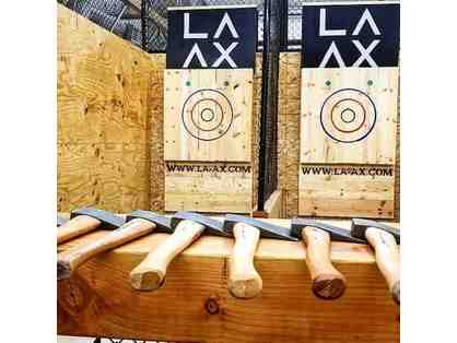 LA AX - Ax Throwing for 6