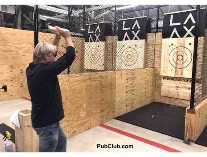 LA AX - Ax Throwing for 6 - Photo 4