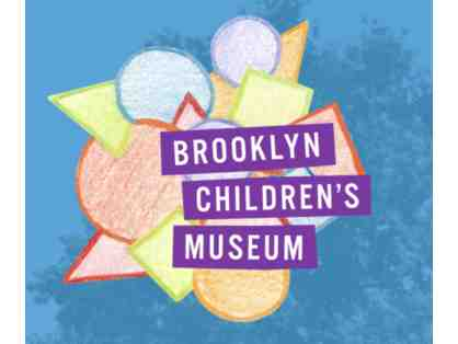 2 free guest passes (each admits 1 adult and 1 child) to Brooklyn Children's Museum