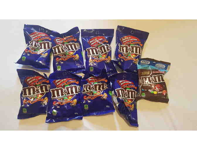 10 individual packs of M&Ms (109g/120g) - Photo 1