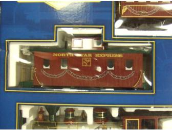 Bachmann Large Scale North Star Express Holiday Train Set