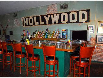 Dinner for 4 @ Hollywood Cafe, Home of the Fried Dill Pickle in Robinsonville, MS