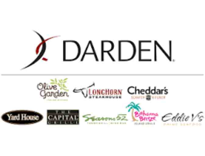 $100 Gift Card to Darden Restaurant of your Choice