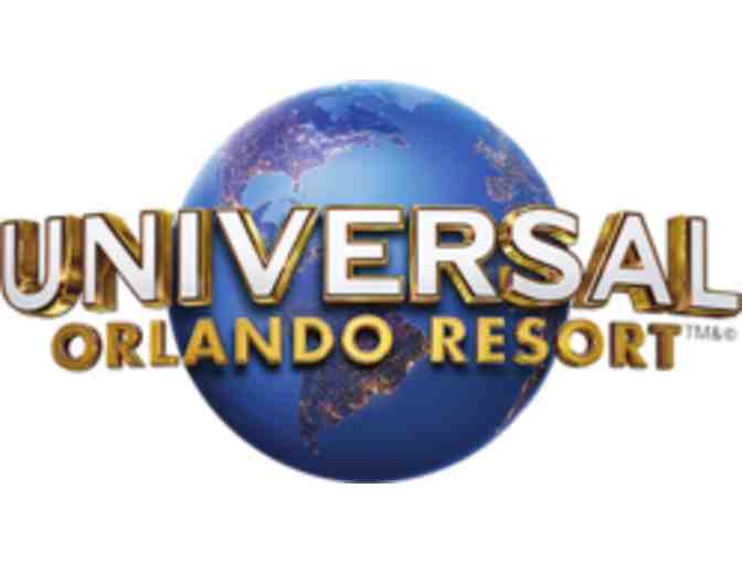 Four (1) Day Park-hopper Tickets to Universal Orlando Resort