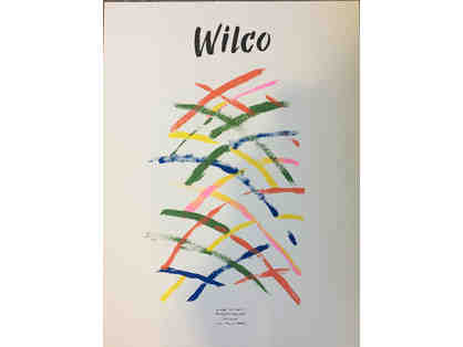 18x24 silkscreen poster for Wilco designed by Matthew Jacobson