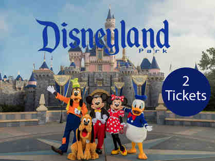 Two tickets to Disneyland Park, California
