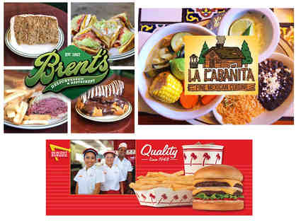 Trio of Food Experiences! Brent's Deli, La Cabanita and In-N-Out Burger