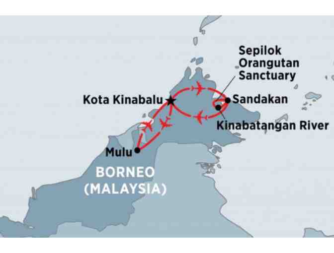 10-day Borneo Adventure for two, including tours, accommodation and return flights.
