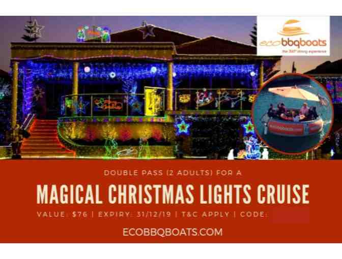 Sparkling Christmas Lights Tour of Mandurah Canals