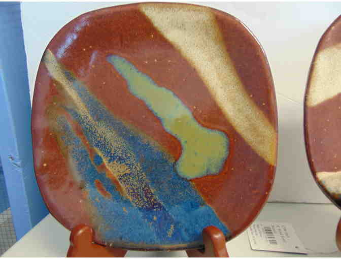 "3 SW Pottery 8"" Square Plates - Photo 2"