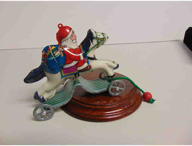 1991 Numbered Pressed Tin Hallmark Collectible Ornament - Photo 1