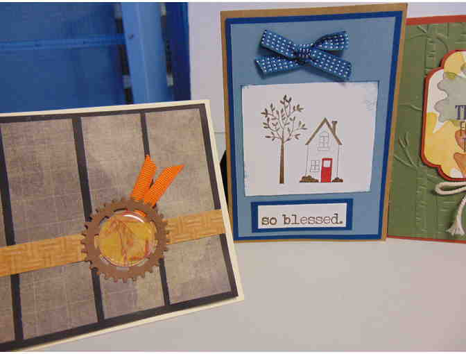 4 Handcrafted Note Cards w/Envelopes - Photo 2