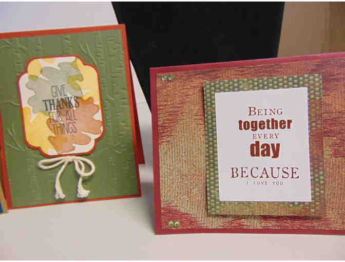4 Handcrafted Note Cards w/Envelopes - Photo 3