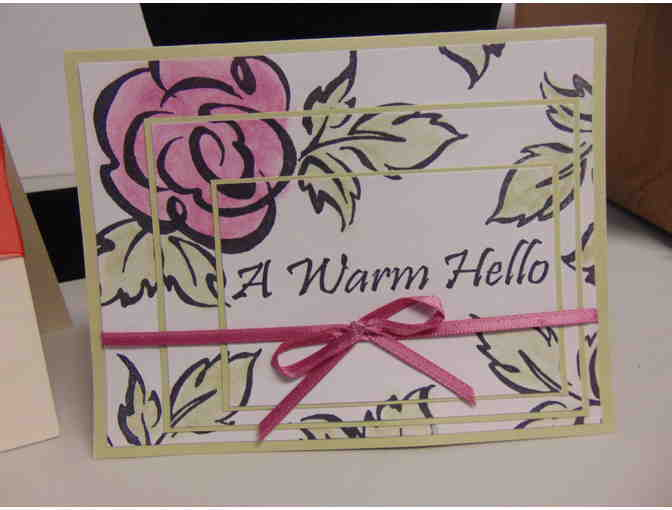 2 Handcrafted Note Cards w/Envelopes - Photo 2