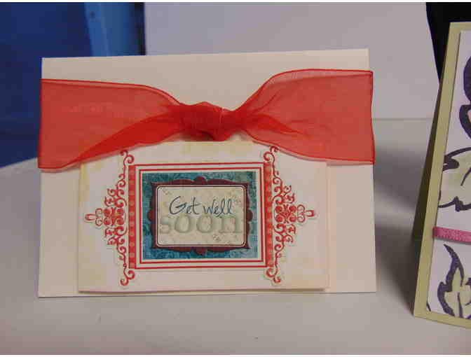 2 Handcrafted Note Cards w/Envelopes - Photo 3