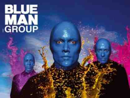 Two Tickets to Blue Man Group in Boston
