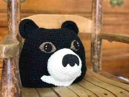 Hand-Crafted Moon Bear Hat!