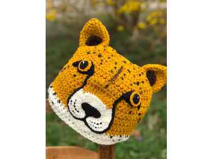 Hand-Crafted Cheetah Hat!