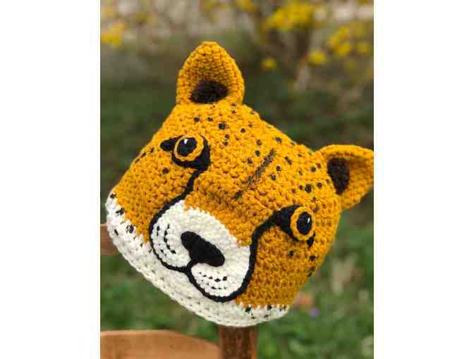 Hand-Crafted Cheetah Hat! - Photo 1