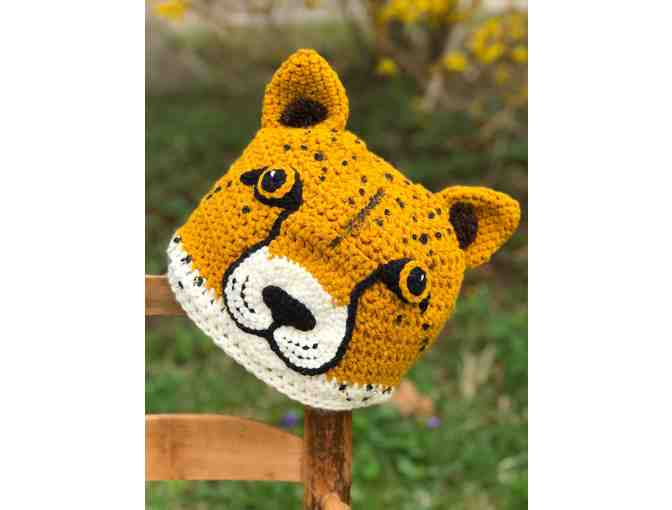 Hand-Crafted Cheetah Hat! - Photo 2