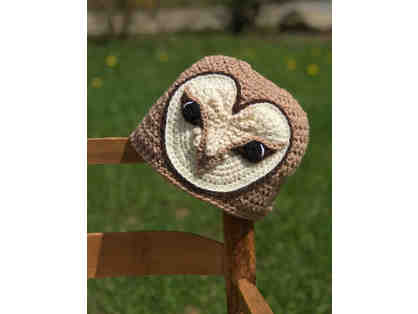 Hand-Crafted Barn Owl Hat!