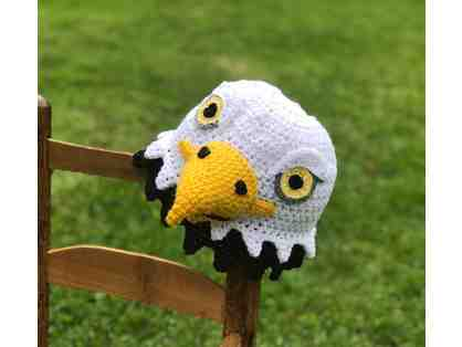 Hand-Crafted Bald Eagle Hat!