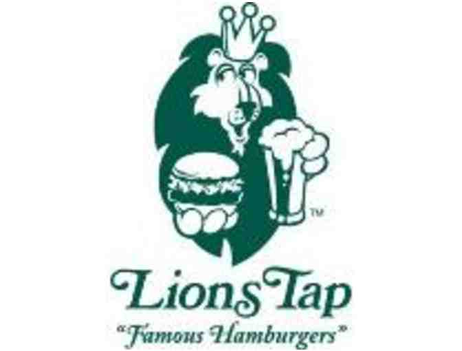 $20 in Gift Certificates to Lions Tap - Photo 1
