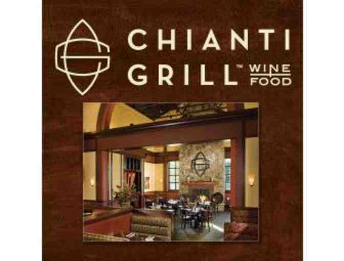 $25 Gift Card to Chianti Grill