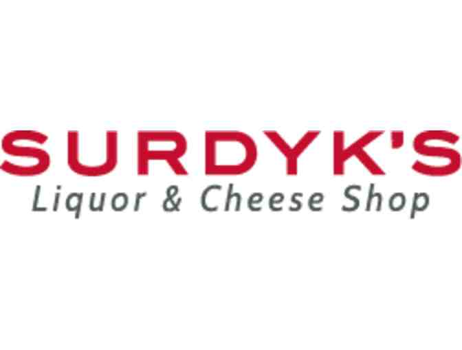$25 Gift Card for Surdyk's Liquor & Cheese Shop