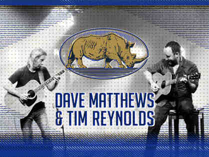 2 tix/2 lounge passes to see Dave Matthews & Tim Reynolds at SPAC on Sat. 6/17/17