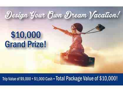 $10,000 Dream Vacation Raffle Ticket