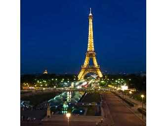 PARIS, FRANCE - AIRFARE FOR 2 and a 2 NIGHT/3 DAY STAY in a FIRST CLASS HOTEL