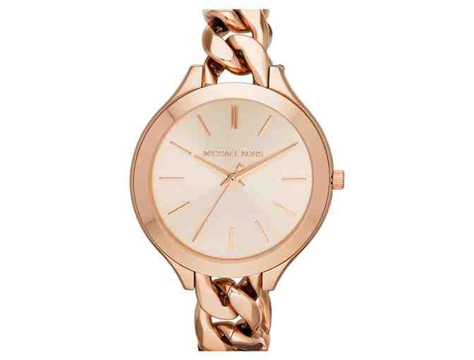 Michael Kors - Slim Runway 3-Hand Watch
