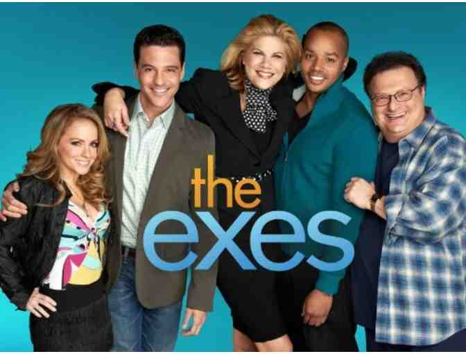 VIP Set Visit to TV Land's THE EXES - AND BACKGROUND ROLE ON AN EPISODE OF THE SHOW!!!