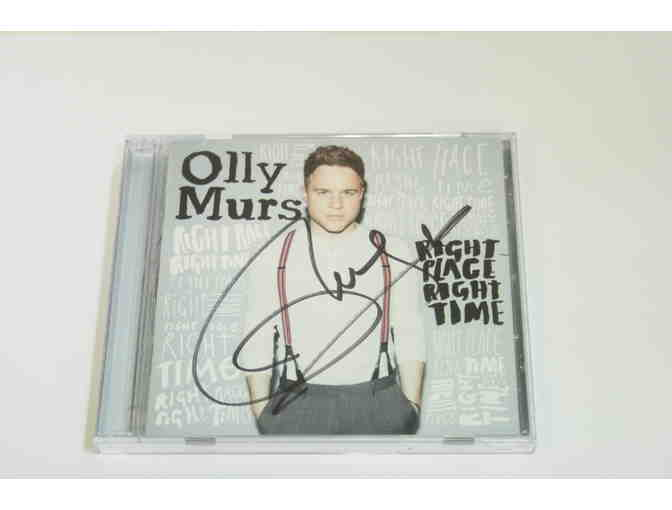 OLLY MURS SIGNED Right Place Right Time CD